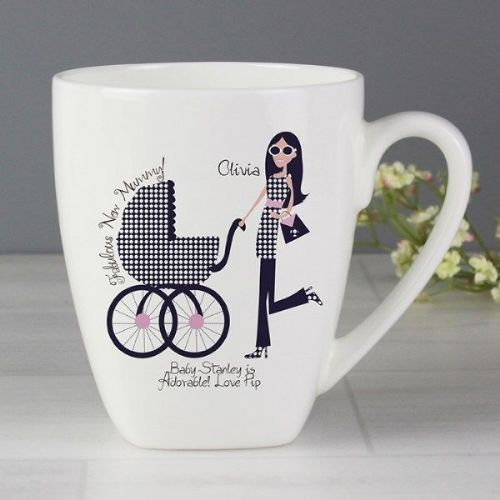 Fabulous New Mummy Latte Mug